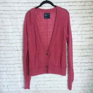 [NWT!]AMERICAN EAGLE wool blend pink cardigan